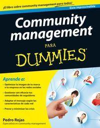 Community Management - Para Dummies - Pedro Rojas