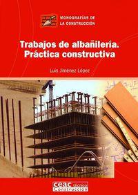 Trabajos De Albañileria - Practica Constructiva - Luis Jimenez Lopez