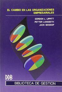 El cambio en las organizaciones empresariales - Gordon L. Lippitt