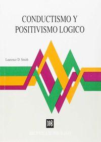 CONDUCTISMO Y POSITIVISMO LOGICO