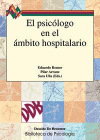 PSICOLOGO EN EL AMBITO HOSPITALARIO, EL