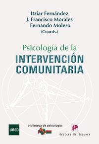 PSICOLOGIA DE LA INTERVENCION COMUNITARIA