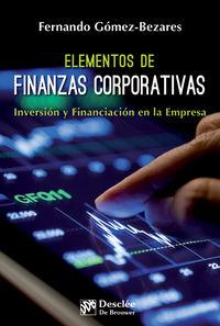 Elementos De Finanzas Corporativas - Fernando Gomez-Bezares