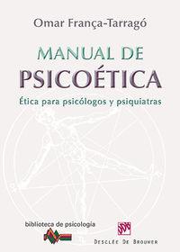 Manual De Psicoetica - Omar Franca Tarrago