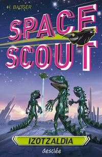 Izotzaldia - Space Scout - Hilary Badger