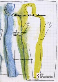 GALILEAN AURKITUKO DUZUE