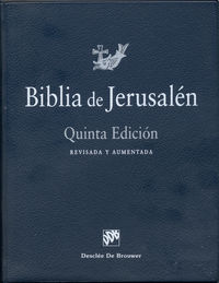 (5 ED) BIBLIA DE JERUSALEN (MANUAL MOD.0)