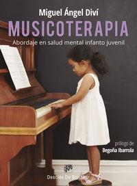 musicoterapia - abordaje de salud mental infanto juvenil - Miguel Angel Divi