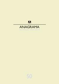 CATALOGO ANAGRAMA 50 AÑOS 1969-2019