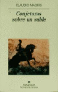 Conjeturas Sobre Un Sable - Claudio Magris