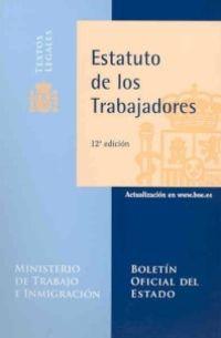 (12 ED) ESTATUTO DE LOS TRABAJADORES
