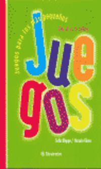 JUEGOS PARA LOS MAS PEQUEÑOS DE 4 A 5 AÑOS