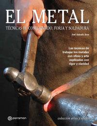 METAL, EL - TECNICAS DE CONFORMADO, FORJA Y SOLDADURA
