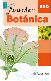 Apuntes De Botanica - Eso - Aa. Vv.