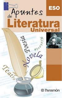 apuntes de literatura universal - eso - Aa. Vv.