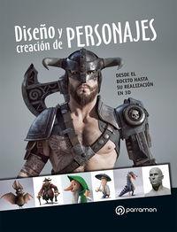 DISEÑO Y CREACION DE PERSONAJES