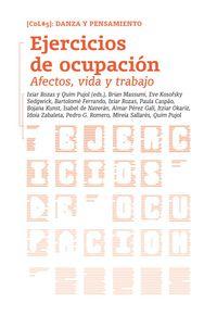 EJERCICIOS DE OCUPACION - AFECTOS, VIDA Y TRABAJO