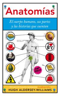 ANATOMIAS - EL CUERPO HUMANO, SUS PARTES Y LAS HISTORIAS QUE CUENTAN