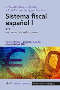 (7 Ed)  Sistema Fiscal Español I - Emilio  Albi  /  Raquel   Paredes  /  [ET AL. ]