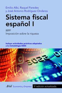 (9 ED) SISTEMA FISCAL ESPAÑOL I