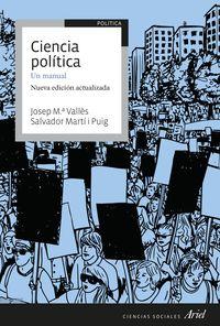 CIENCIA POLITICA: UN MANUAL