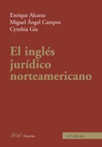 INGLES JURIDICO NORTEAMERICANO, EL