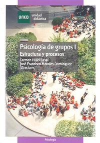 PSICOLOGIA DE GRUPOS I - ESTRUCTURA Y PROCESOS