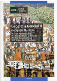 GEOGRAFIA GENERAL II - GEOGRAFIA HUMANA
