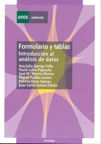 FORMULARIO Y TABLAS - INTRODUCCION AL ANALISIS DE DATOS