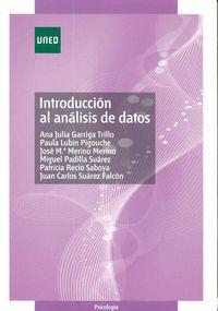 INTRODUCCION AL ANALISIS DE DATOS