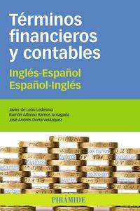 TERMINOS FINANCIEROS Y CONTABLES ING / ESP - ESP / ING
