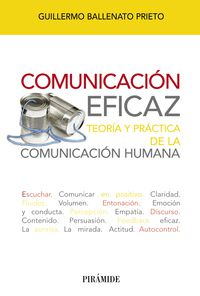 Comunicacion Eficaz - Teoria Y Practica De La Comunicacion Humana - Guillermo Ballenato Prieto