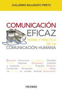 COMUNICACION EFICAZ - TEORIA Y PRACTICA DE LA COMUNICACION HUMANA