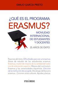 ¿que Es El Programa Erasmus? - Emilio Garcia Prieto
