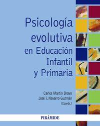 PSICOLOGIA EVOLUTIVA EN EDUCACION INFANTIL Y PRIMARIA