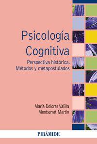 Psicologia Cognitiva - Maria Dolores  Valiña Garcia  /  Motserrat  Martin Rajo