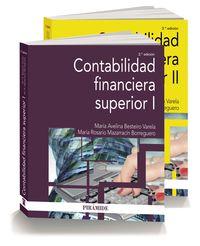 (pack) Contabilidad Financiera Superior - Maria Avelina Besteiro Varela / Maria Rosario Mazarracin Borreguero