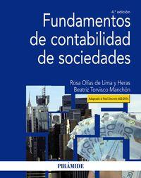 (4 ED) FUNDAMENTOS DE CONTABILIDAD DE SOCIEDADES