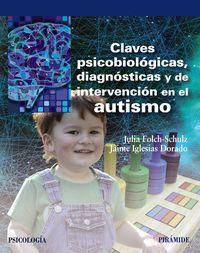 CLAVES PSICOBIOLOGICAS, DIAGNOSTICAS Y DE INTERVENCION EN EL AUTISMO