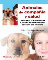 Animales De Compañia Y Salud - Javier Lopez-Cepero Borrego