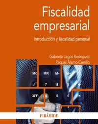 FISCALIDAD EMPRESARIAL - INTRODUCCION Y FISCALIDAD PERSONAL