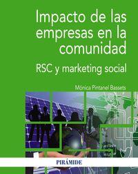 IMPACTO DE LAS EMPRESAS EN LA COMUNIDAD - RSC Y MARKETING SOCIAL