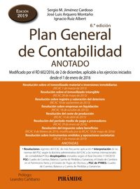 PLAN GENERAL DE CONTABILIDAD ANOTADO - MODIFICADO