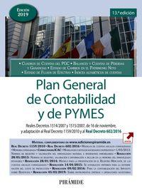 (13 Ed) Plan General De Contabilidad Y De Pymes - Reales Decretos 1514*2007 Y 1515*2007, De 16 De Noviembre, Y Adaptacion Al Real Decreto 1159*2010 - Aa. Vv.