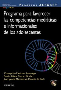 PROGRAMA ALFABET - PROGRAMA PARA FAVORECER LAS COMPETENCIAS MEDIATICAS E INFORMACIONALES DE LOS ADOLESCENTES