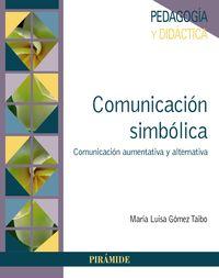 COMUNICACION SIMBOLICA - COMUNICACION AUMENTATIVA Y ALTERNATIVA
