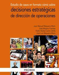 Estudio De Casos En Formato Comic Sobre Decisiones Estrategicas De Direccion De Operaciones - Juan Manuel Maqueira Marin / Jose Moyano Fuentes / [ET AL. ]