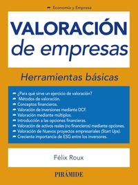 Valoracion De Empresas - Herramientas Basicas - Felix Roux