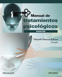 MANUAL DE TRATAMIENTOS PSICOLOGICOS - ADULTOS