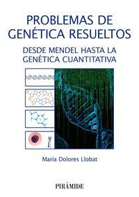 PROBLEMAS DE GENETICA RESUELTOS - DESDE MENDEL HASTA LA GENETICA CUANTITATIVA